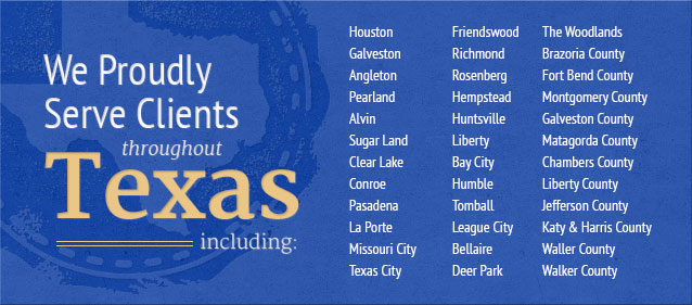 Serving clients throughout Texas